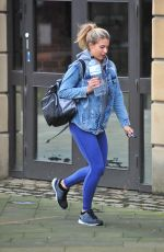 GEMMA ATKINSON at Strictly Come Dancing Rehearsals in Liverpool 09/13/2017