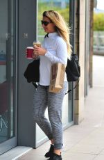 GEMMA ATKINSON Out and About in Manchester 09/20/2017