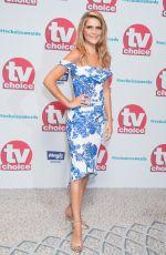 GEMMA OATEN at TV Choice Awards in London 09/04/2017