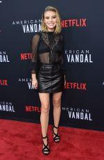 GENEVIEVE HANNELIUS at American Vandal Special Screening in Los Angeles 09/14/2017