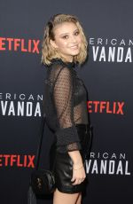 GENEVIEVE HANNELIUS at American Vandal Special Screening in Los Angeles 09/14/2017
