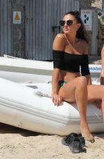 GEORGIA HARRISON in Bikini at a Beach in Ibiza 09/13/2017