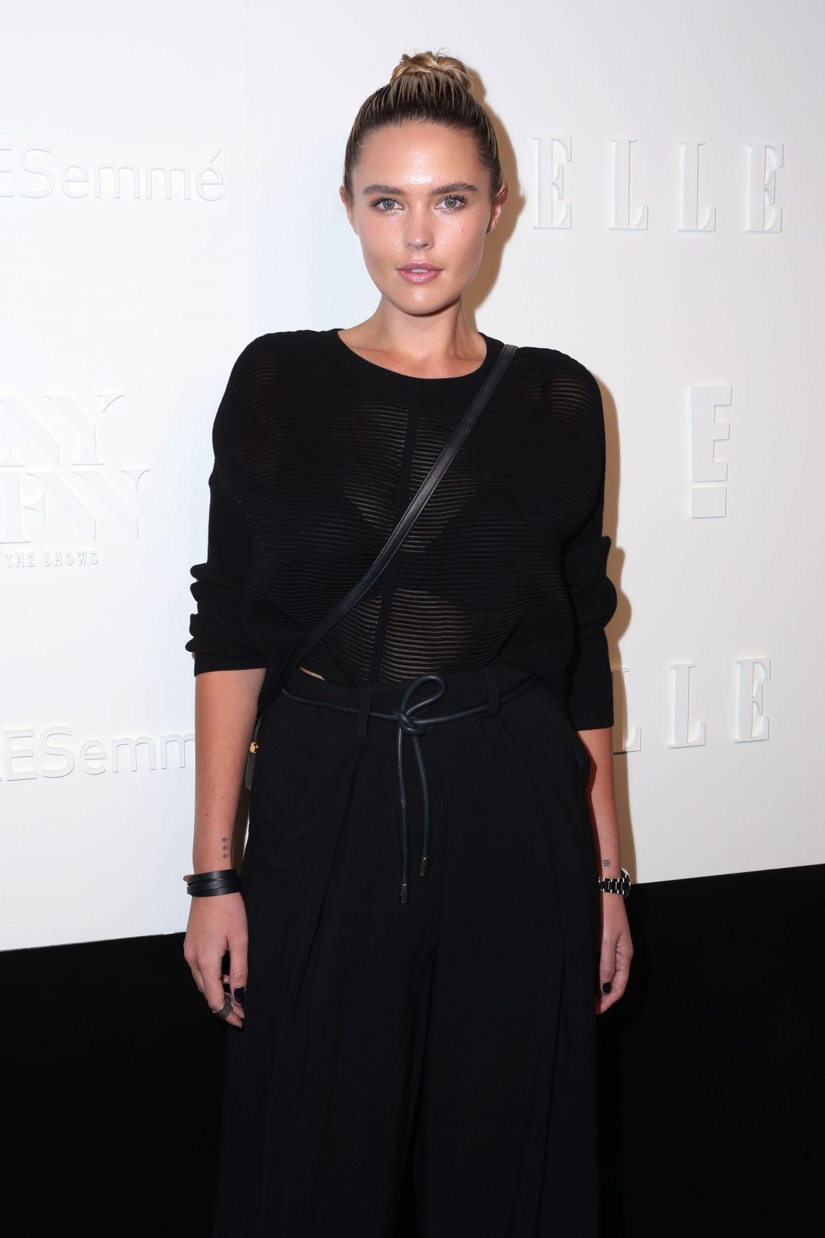 GEORGINA BURKE at E!, Elle & Img Host New York Fashion Week Kickoff Party 09/06/2017