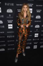 GIGI HADID at Harper's Bazaar Icons Party in New York 09/08/2017