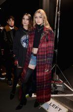 GIGI HADID at Tommynow Fall 2017 Fashion Show at London Fashion Week 09/19/2017