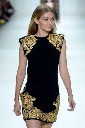 GIGI HADID at Versace Fashion Show at Milan Fashion Week