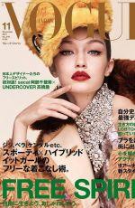 GIGI HADID for Vogue Magazine, Japan November 2017