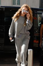 GIGI HADID Out and About in Milan 09/20/2017