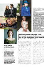 GILLIAN ANDERSON in Io Donna Del Corriere Della Sera, September 2017