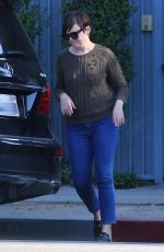 GINNIFER GOODWIN Out in Los Angeles 09/26/2017