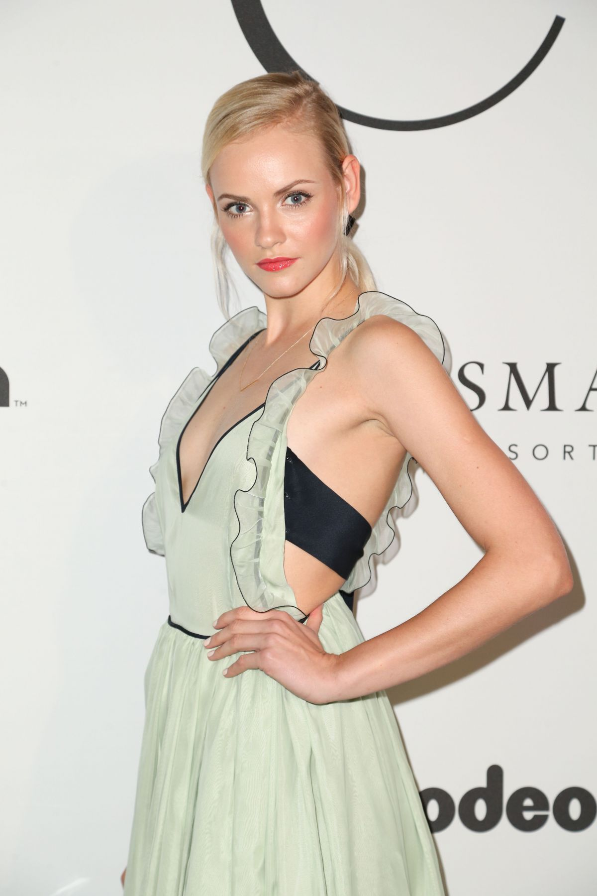 GINTA LAPINA at Unitas Gala Spring/Summer 2018 at New York Fashion Week 09/12/2017