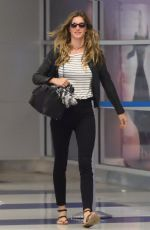 GISELE BUNDCHEN at Logan Airport in Boston 09/19/2017