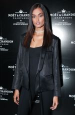 GIZELE OLIVEIRA at Moet & Chandon by Public School Launch Celebration at New York Fashion Week 09/10/2017