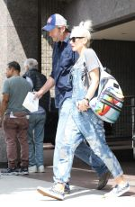 GWEN STEFANI Out and About in Beverly Hills 09/20/2017