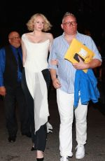 GWENDOLINE CHRISTIE Arrives at Her Hotel in New York 09/07/2017