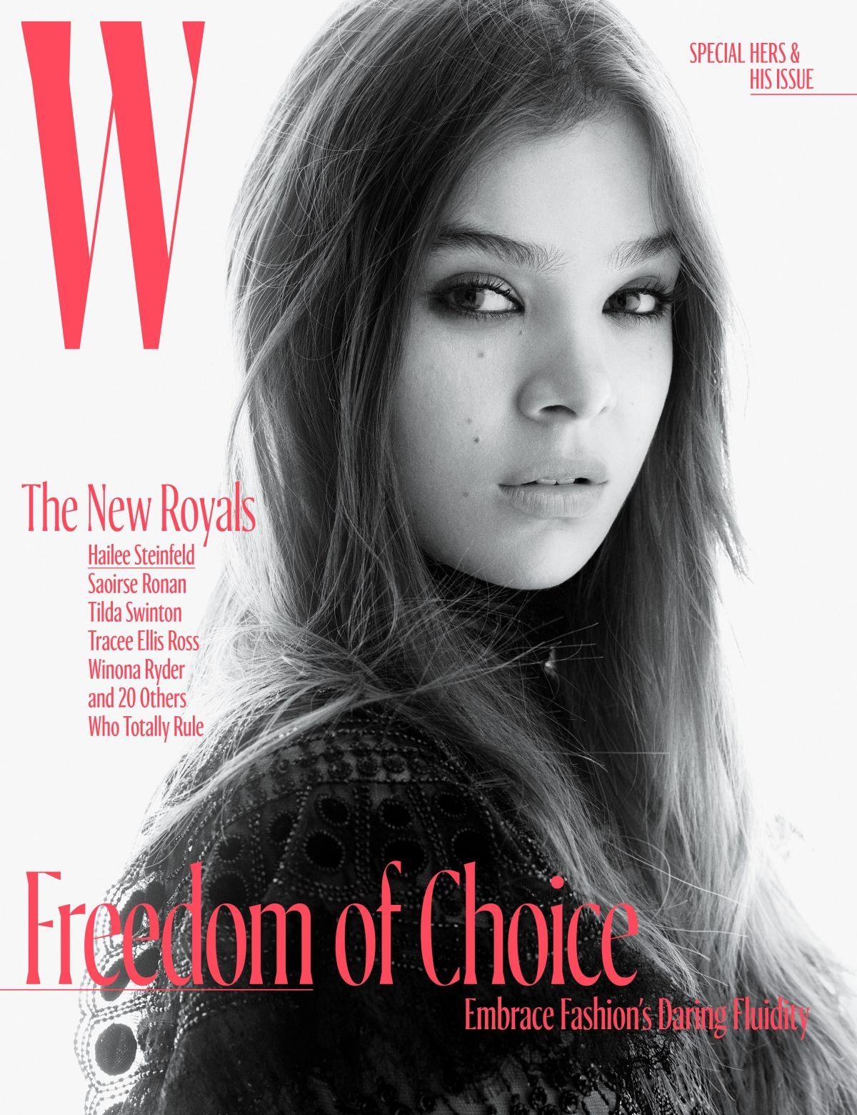 HAILEE STEINFELD for W Magazine, October 2017