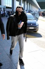 HAILEY BALDWIN Arrives at Malpensa Airport in Milan 09/20/2017