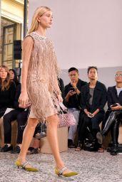 HAILEY BALDWIN at Bottega Veneta Fashion Show in Milan 09/23/2017