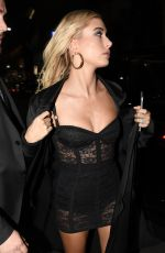 HAILEY BALDWIN at Dolce and Gabbana After Party in Milan 09/24/2017