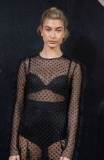 HAILEY BALDWIN at L'Oreal Paris x Balmain Party in Paris 09/28/2017