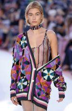 HAILEY BALDWIN at Missoni Fashion Show at Milan Fashion Week 09/23/2017