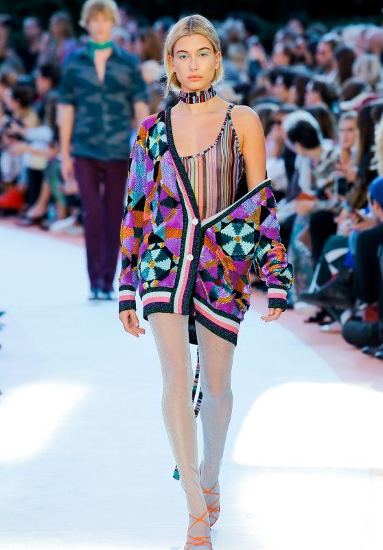 HAILEY BALDWIN at Missoni Fashion Show at Milan Fashion Week