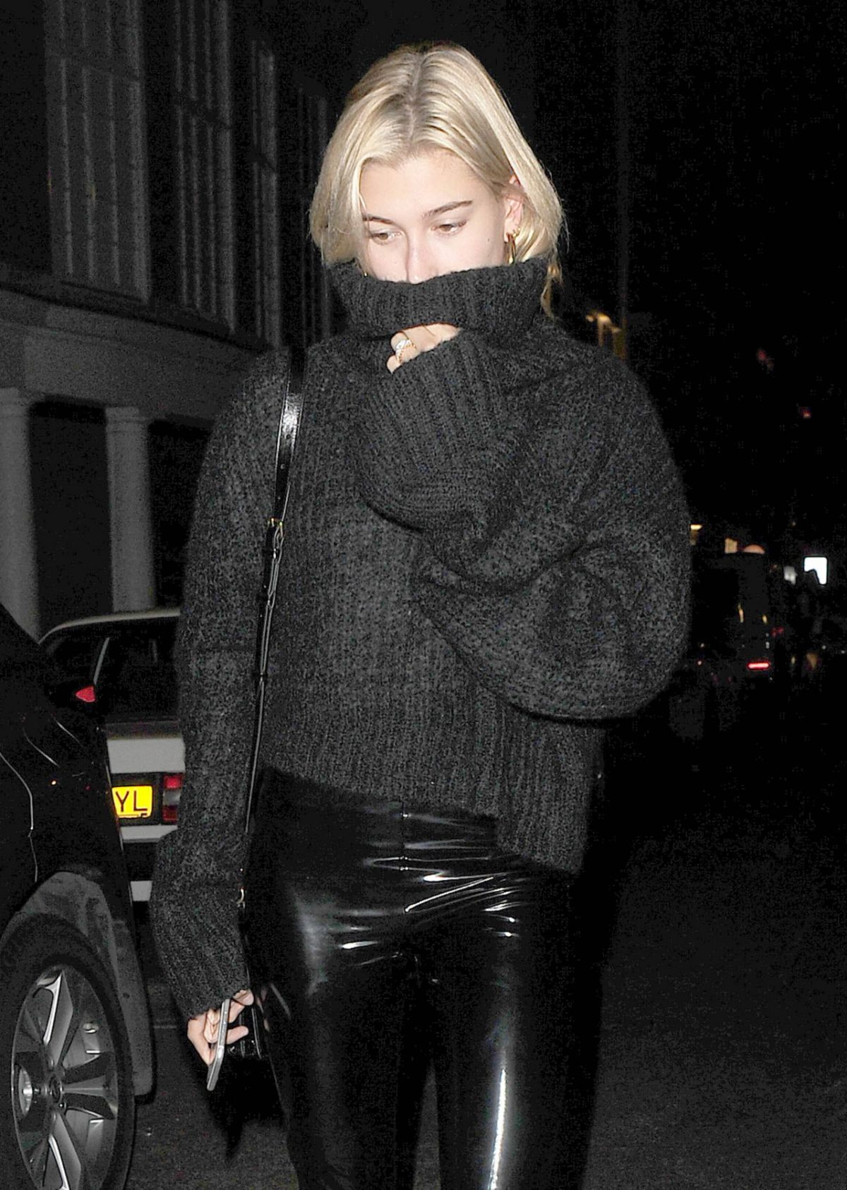 HAILEY BALDWIN at Nobu Berkeley in London 09/13/2017