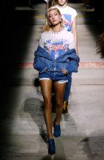 HAILEY BALDWIN at Topshop Fashion Show at London Fashion Week 02/19/2017