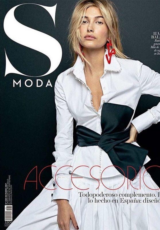 HAILEY BALDWIN for S Moda Magazine, October 2017