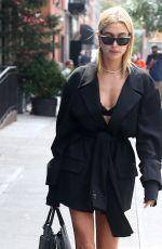 HAILEY BALDWIN Leaves Her Hotel in New York 09/07/2017