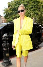 HAILEY BALDWIN Out and About in London 09/16/2017