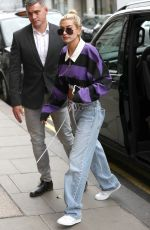HAILEY BALDWIN Out and About in London 09/18/2017