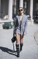 HAILEY BALDWIN Out and About in Milan 09/20/2017