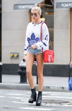 HAILEY BALDWIN Out and About in New York 09/05/2017