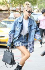 HAILEY BALDWIN Out and About in New York 09/11/2017