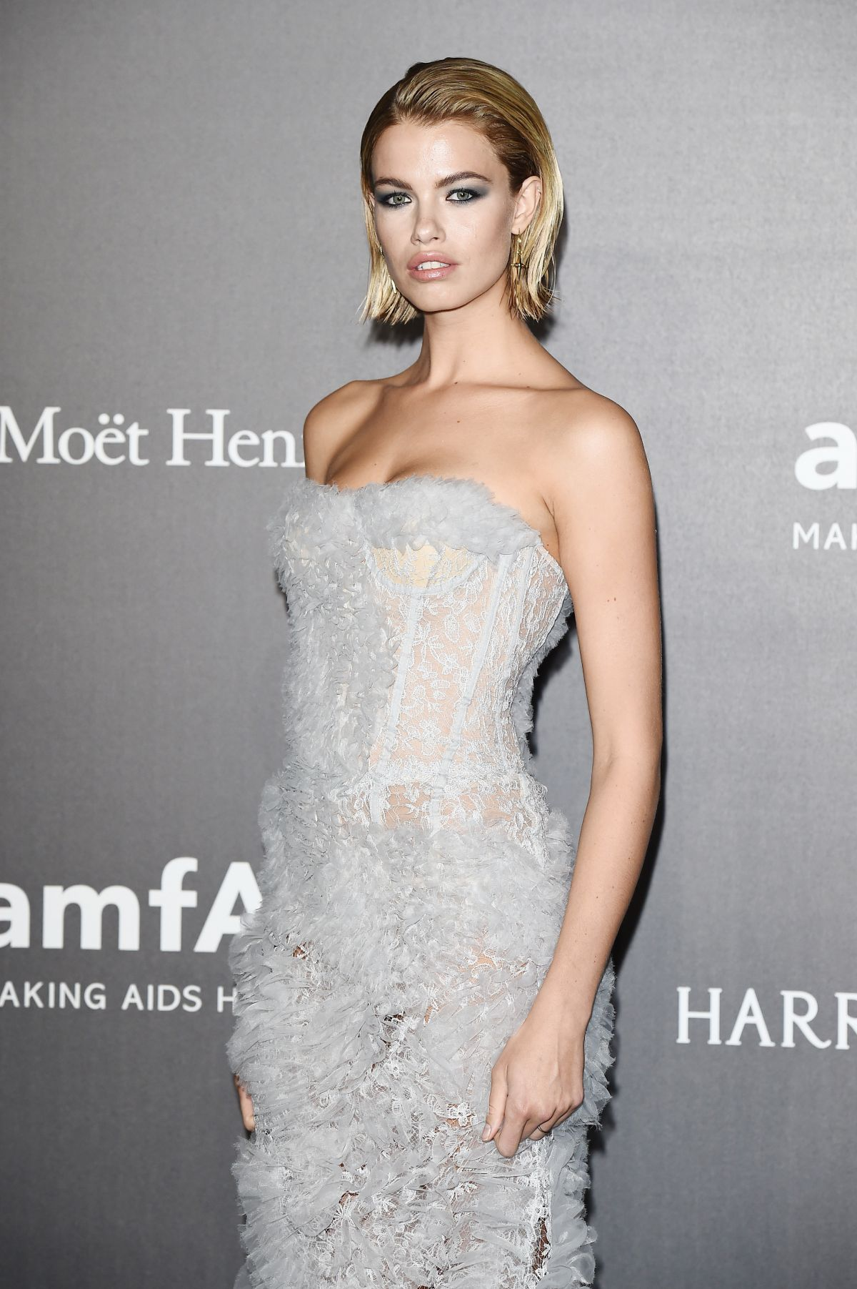HAILEY CLAUSON at Amfar Gala in Milano 09/21/2017