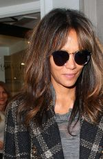 HALLE BERRY at a Nail Salon in New York 09/14/2017