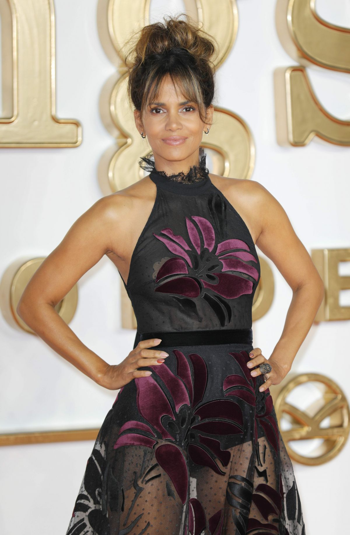 HALLE BERRY at Kingsman: The Golden Circle Premiere in London 09/18/2017
