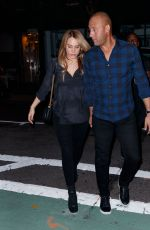 HANNAH DAVIS and Derek Jeter Out in New York 09/11/2017