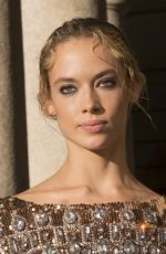 HANNAH FERGUSON at Alberta Ferretti Spring/Summer 2018 Fashion Show
