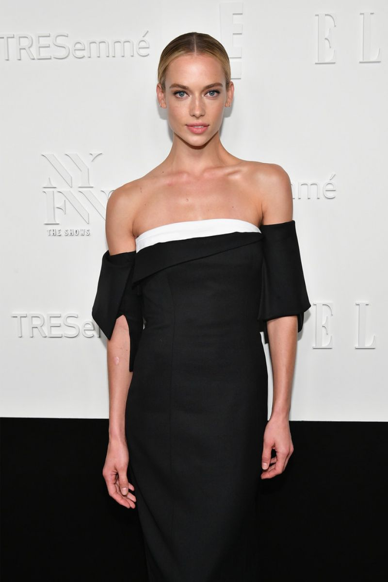 HANNAH FERGUSON at E!, Elle & Img Host New York Fashion Week Kickoff Party 09/06/2017