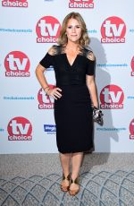 HARRIET SCOTT at TV Choice Awards in London 09/04/2017
