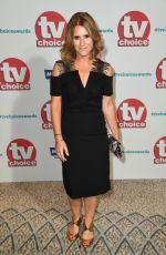 HARRIET SCOTT at TV Choice Awards in London 09/04/2017