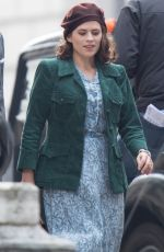 HAYLEY ATWELL and Ewan McGregor on the Set of Christopher Robin in Gravesend 09/03/2017
