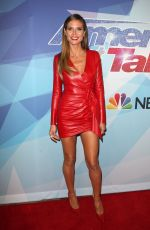 HEIDI KLUM at America's Got Talent, Season 12 Final Week in Hollywood 09/19/2017