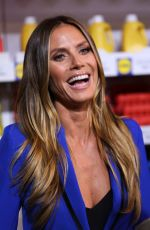 HEIDI KLUM at Esmara by Heidi Klum Show at New York Fashion Week 09/07/2017