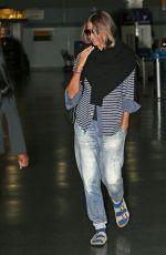 HEIDI KLUM at JFK Airport in New York 09/07/2017