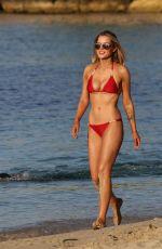 HELEN FLANAGAN in Bikini at a Beach in Dubai, September 2017