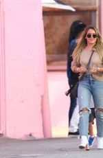 HILARY DUFF and Mike Comrie Out in Los Angeles 09/09/2017