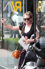 HILARY DUFF Heading to a Gym in Los Angeles 09/02/2017